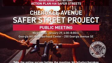ICYMI: Cherokee Avenue Safer Streets Public Meeting
